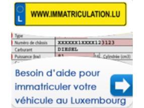 Immatriculer votre véhicule au Luxembourg