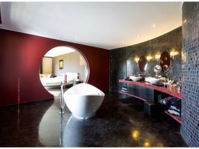 Rénovation complète salle de bains avec mosaiques