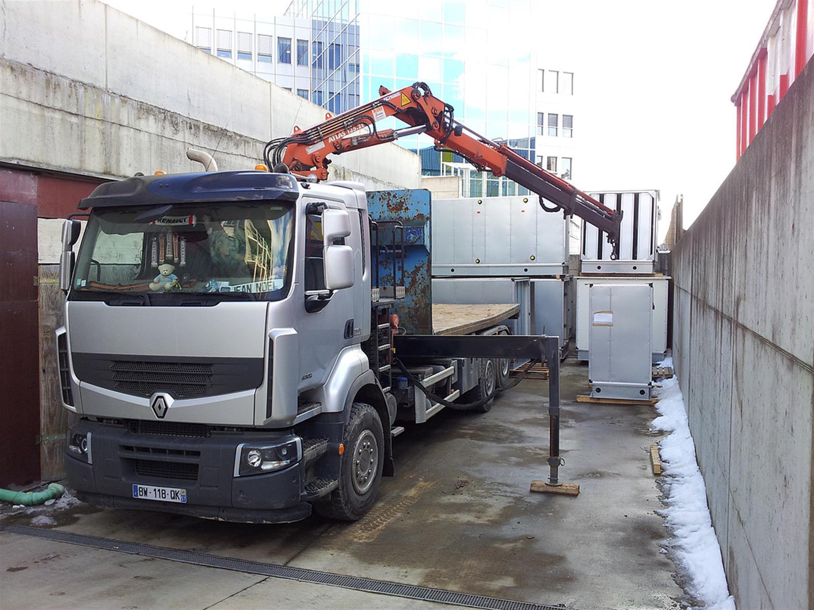 Presta bennes lux sa recyclage container pour d chet - Comptoir des fers et metaux sa luxembourg ...