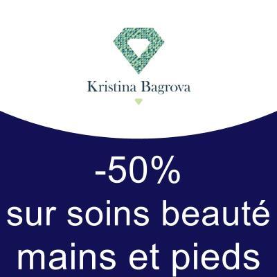 -50% sur soins beauté des mains et des pieds